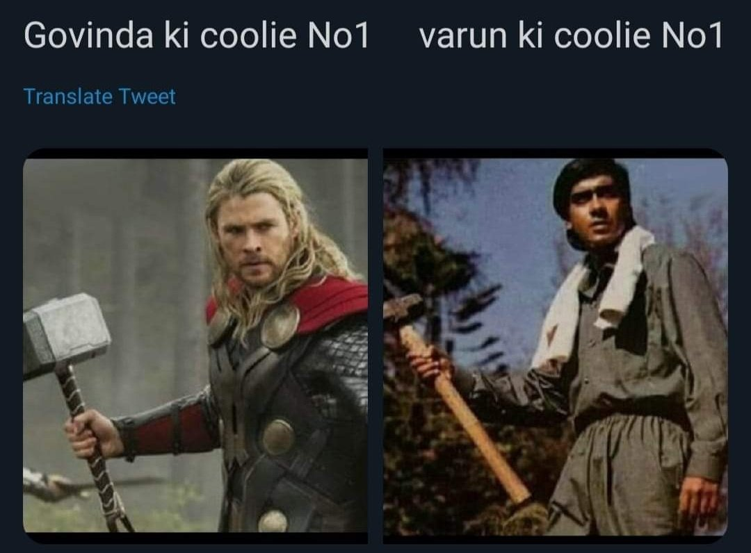 True story #CoolieNo1 #VarunDhawan
