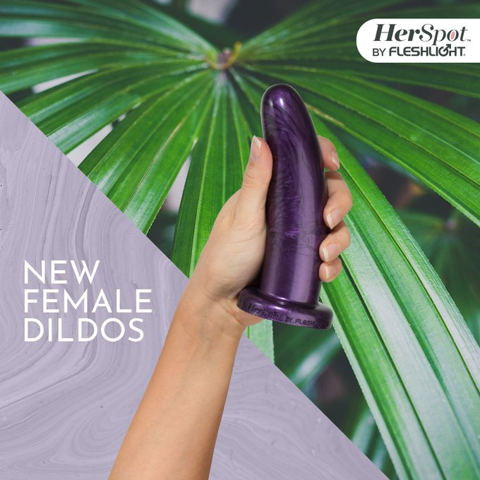 Ladies, this one's for YOU! Enhance your self care routine with HerSpot dildos, the latest in female