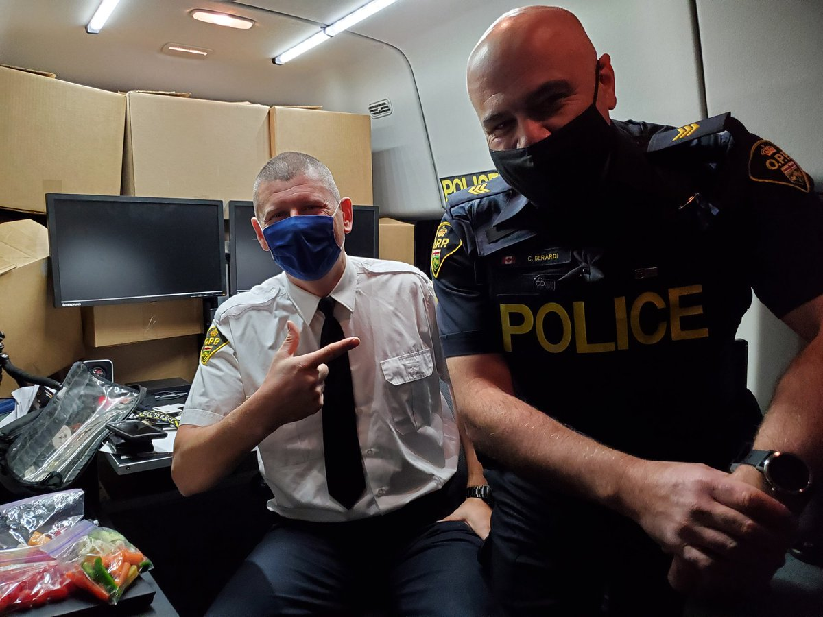 Shout out to OPP Media Officers Kerry Schmidt & Carlo Berardi & the entire OPP Corp Comm team who were front and centre working tirelessly under stressful conditions for the past 10 days dealing with the line of duty death of Provincial Constable Marc Hovingh on Manitoulin Island https://t.co/ChbjgbLUSW