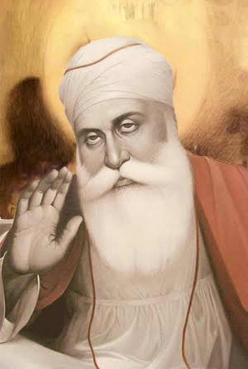 T 3737 - .. my wishes and greetings on this auspicious occasion of Gurupurab .. the birth anniversary of GURU NANAK DEV ji .. the 551 st ..   .. and I look up from my desk .. and HE is there with me .. with his blessings ..   Sat naam wahe Guru !! https://t.co/npsR7ouMF2