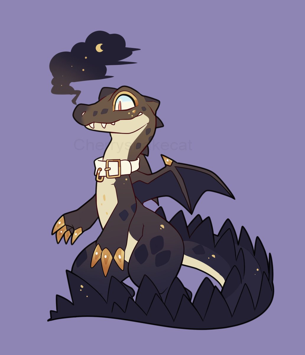 Tonight a fancy Alligator has come to visit you 🌙