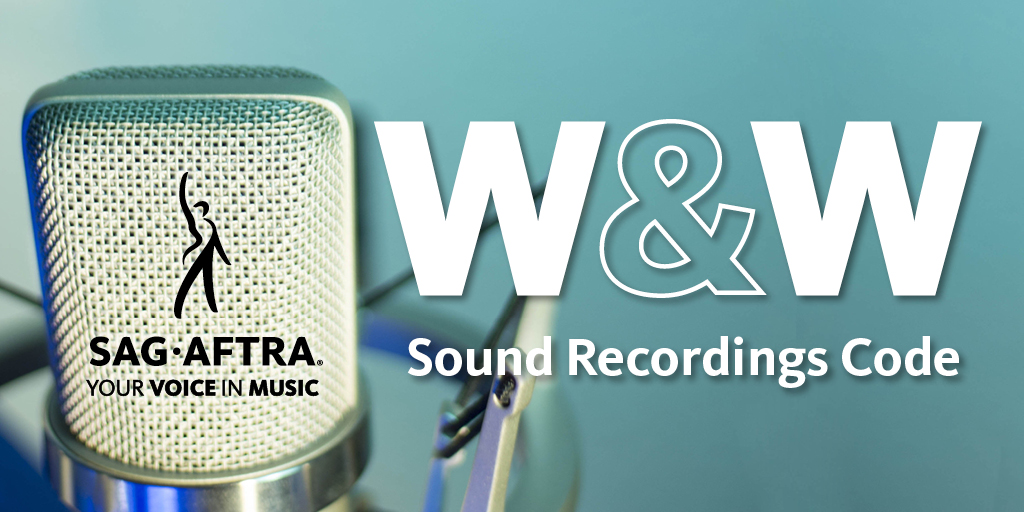 Recording artist members: W&W Committee Meetings for the Sound Recording Contracts begin Dec. 1-3. Mobilize, vocalize and be heard. bit.ly/36WhaHg #sagaftramembers #musicindustry #recordingartists