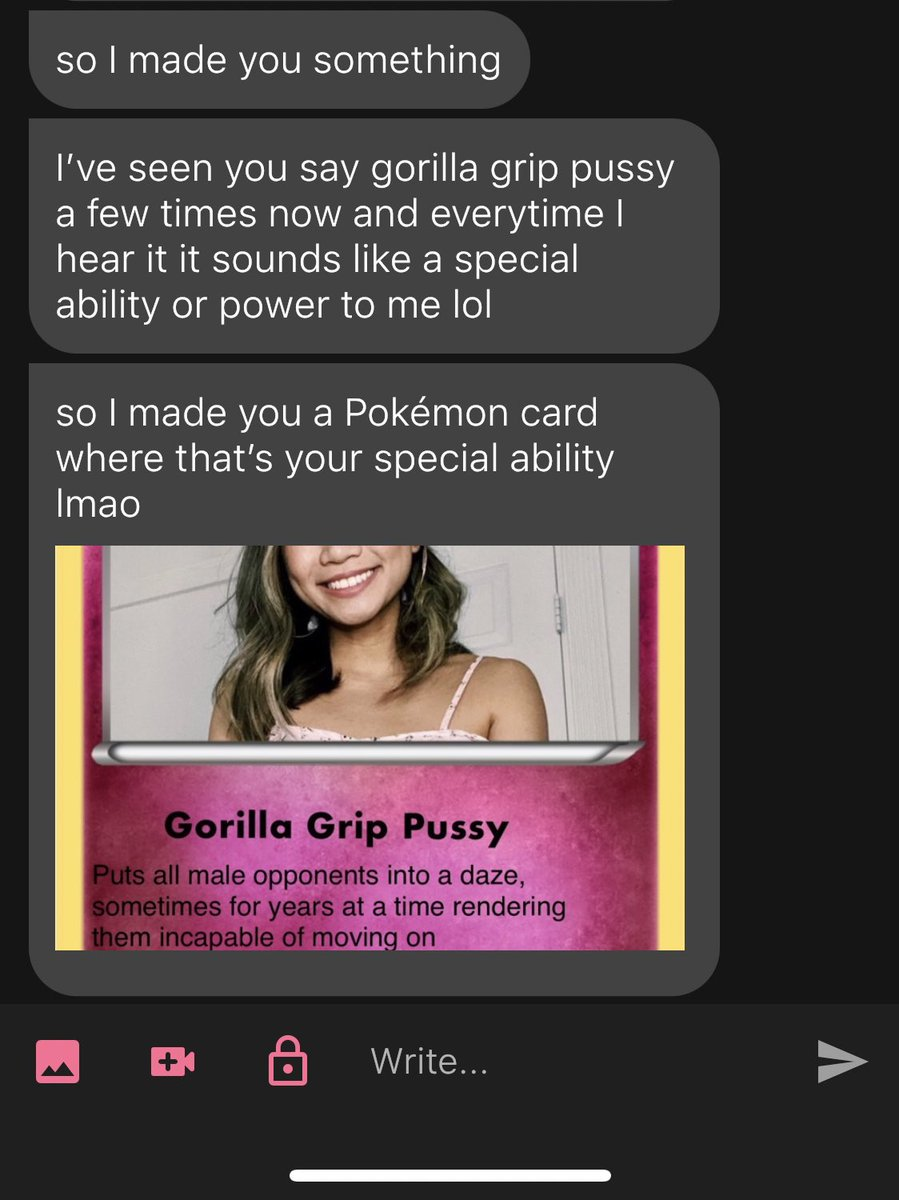 one of my followers made me a pokemon card for my gorilla grip pussy 😭😭😭😭😭😭😭😭😭😭😭😭😭😭😭😭😭😭😭😭😭😭😭😭😭😭😭😭😭😭😭😭😭😭😭😭😭😭😭😭😭😭😭😭😭 https://t.co/kFbF7V2xSp