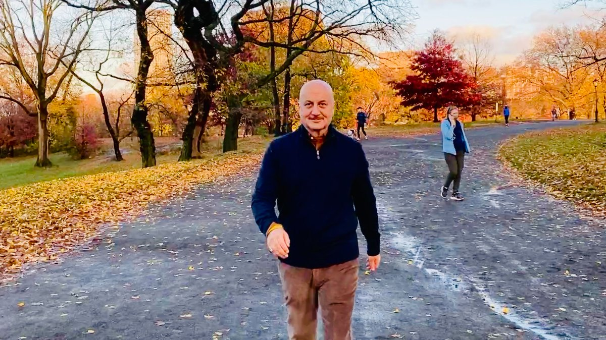 """Central Park inspires me to be myself & to believe in life. When I enter #myCentralPark, I am peaceful, creative, & suddenly not in a hurry—I become one with myself. And, when I leave it, I am ready to take on the world."" —@AnupamPKher  Share your story:"