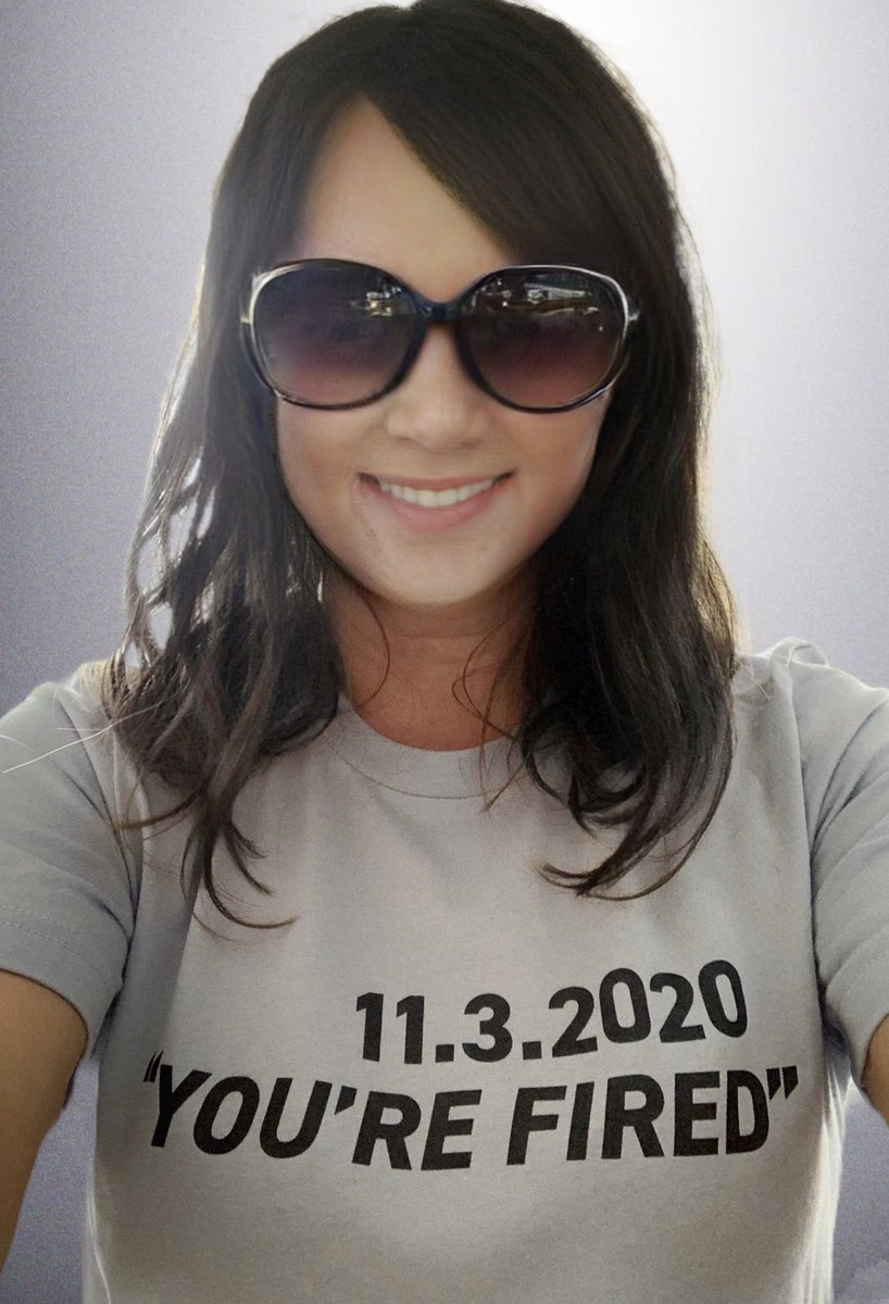 Love to see our shirt out there.  @realDonaldTrump, the people have spoken. YOU'RE FIRED!   You can get our shirt here:  #YOUREFIRED #sundayvibes