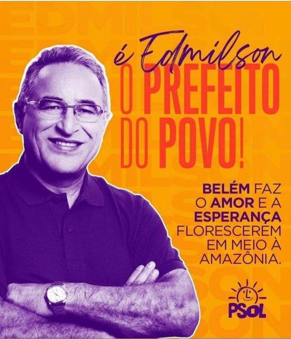 Edmilson vence eleição contra candidato de Bolsonaro em Belém