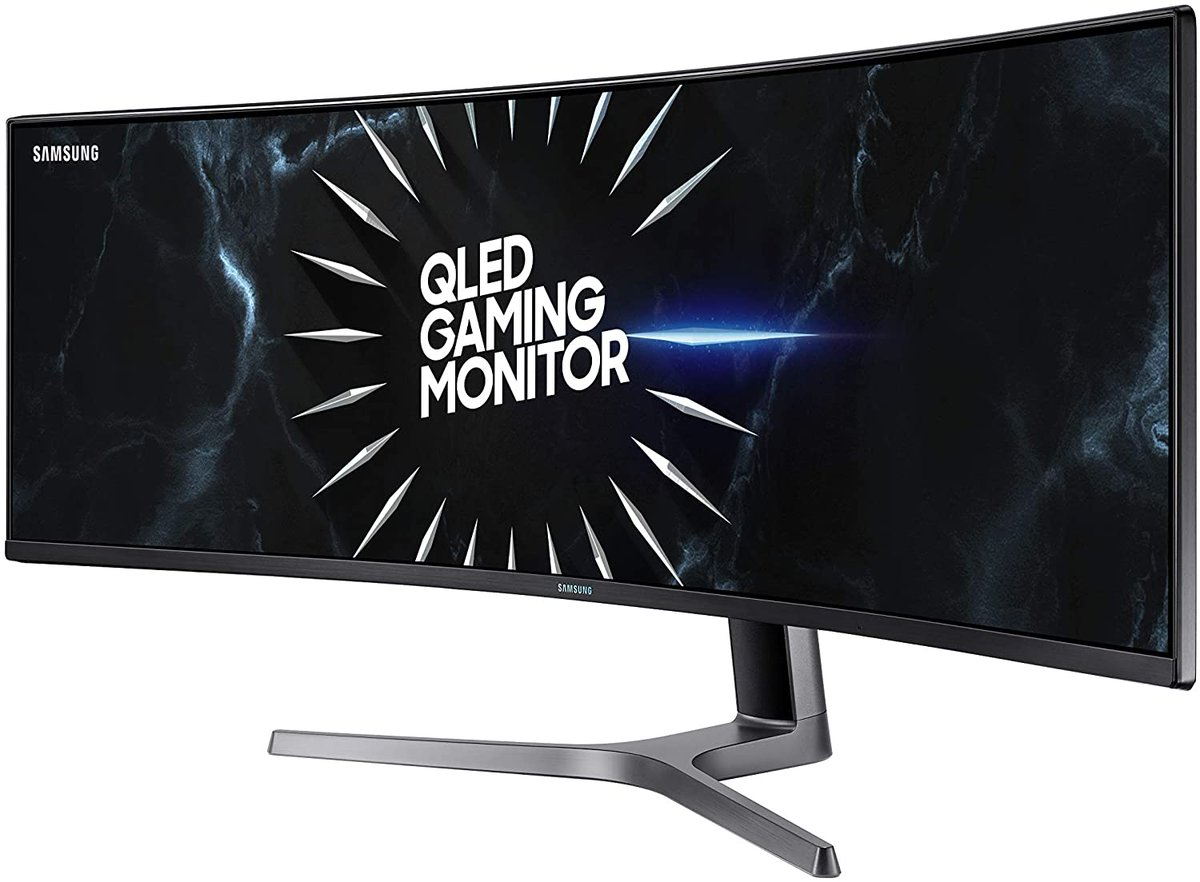 SAMSUNG LC49RG90SSNXZA 49-Inch CRG9 Curved Gaming Monitor  Only $999.99!  2