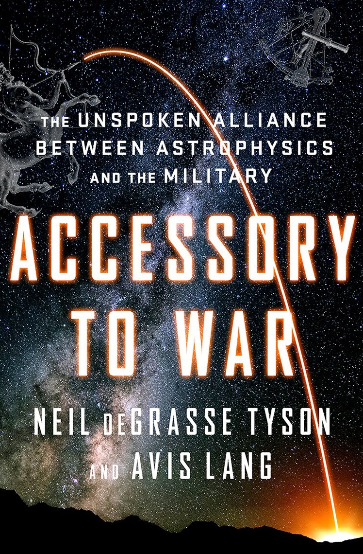 "Know anybody who likes history? Consider ""Accessory to War: The Unspoken Alliance Between Astrophysics and the Military."" 500 pages that explore connections between my profession and centuries of military conflict.  Audio Book narrated by @CourtneyBVance"