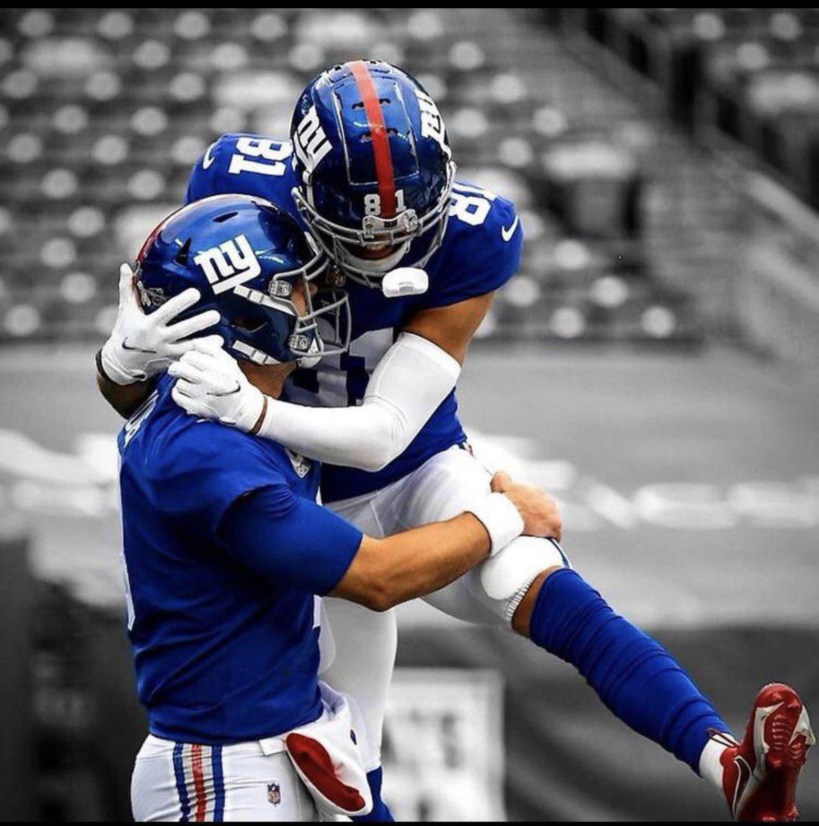 QB Daniel Jones & WR Austin Mack #TogetherBlue