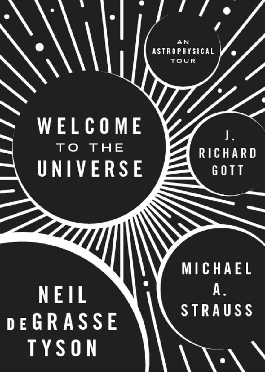 "Know anyone ready for the next level? Two of my colleagues and I wrote ""Welcome to the Universe: An Astrophysical Tour"", based on an introductory course we co-taught at Princeton back when I was on the faculty there."