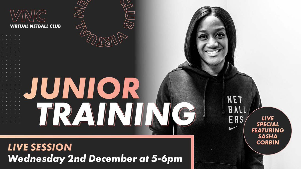 🤩 Great opportunity for all U11s!  Take part in 🔟 pre-recorded sessions with @Sasha_Corbin at the Virtual Netball Club - all available now!  All your junior netballers need is energy 🔥, trainers 👟, a ball 🏐, and to be prepared to have some fun! 😃  #RiseAgain