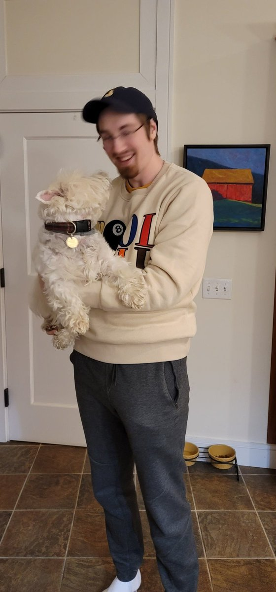 Failboat - Thank to @CallMeCarsonYT @PoolHallCo for the free dog  Also this sweater feels nice