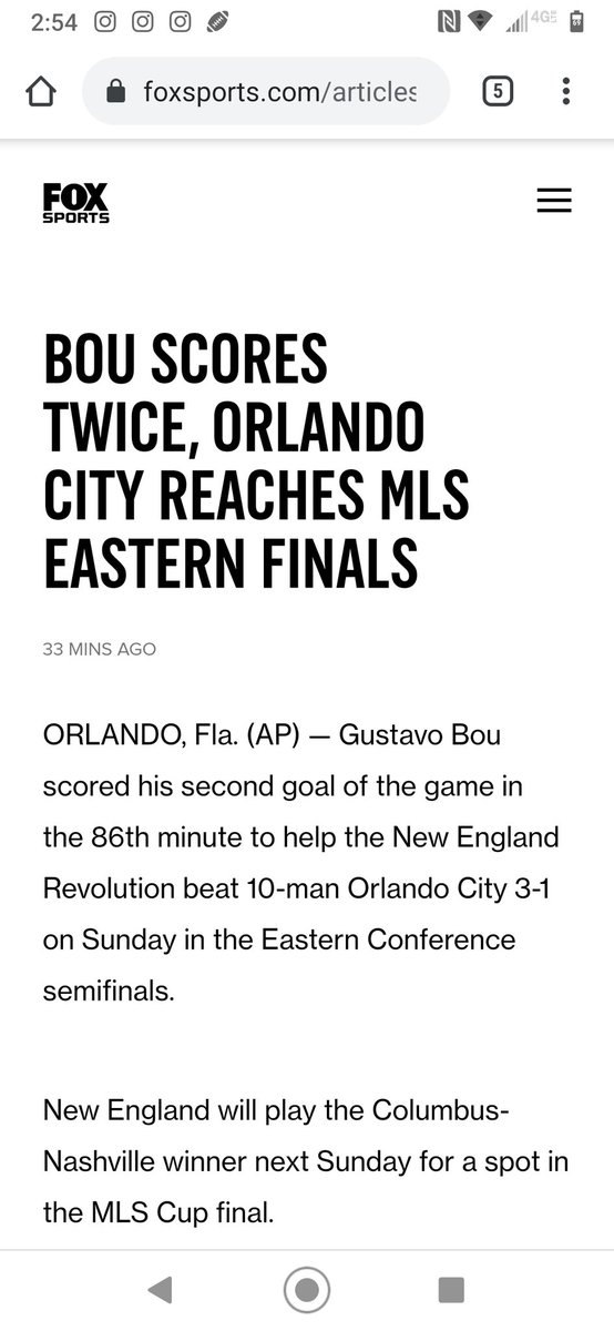 @FOXSoccer @MLS @NERevolution Fix your busted headline. #NERevs