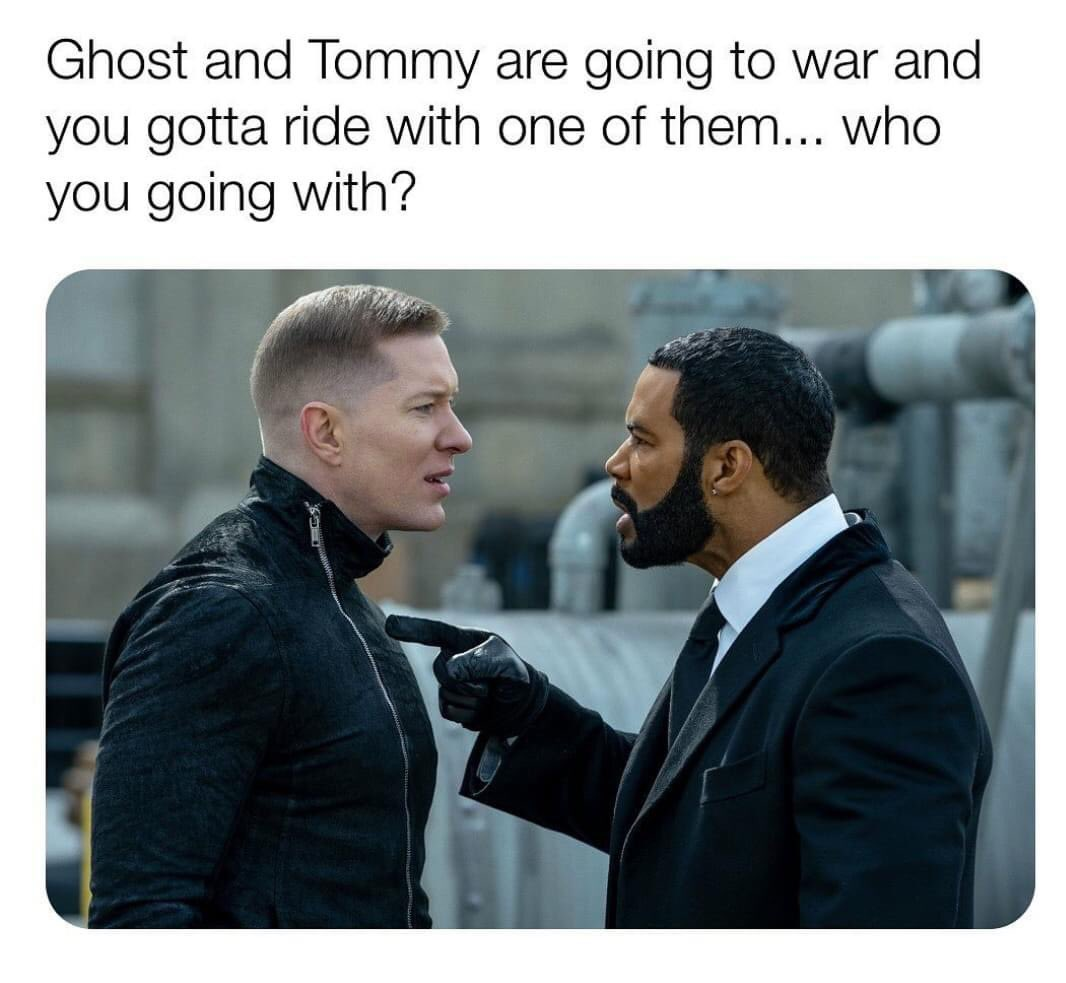 Power fans?   (I'm going with Ghost.)   #PowerTV