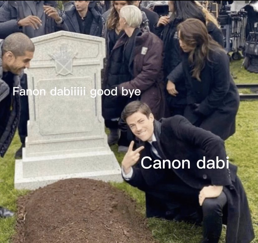 Replying to @svybtch: I don't know if anyone has done this yet but good riddance to fanon dabi.