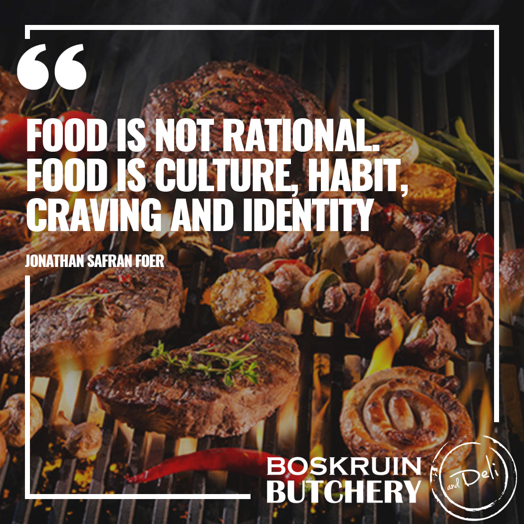 We use time honoured butcher techniques to deliver the best cuts. Quite simply, we supply meat how it should be eaten; aged correctly and free of growth hormones, additives and antibiotics.  #meat #food #butchery #meatlover #braai #foodie #boskruinbutchery https://t.co/ur1jjhzr2a