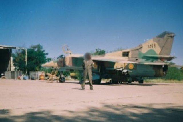 #أثيوبيا تمكنت القوات الانفصالية في #اقليم_تيغراي من إسقاط مقاتلة ميغ 23 تابعة لسلاح الجو الإثيوبي وأسر الطيار.