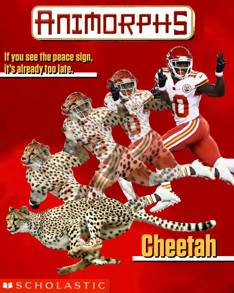 Tyreek Hill went OFF:  🐆 13 Rec 🐆 269 Yards 🐆 3 TD  Fast as lightning ⚡ @cheetah https://t.co/pouQBdedOd
