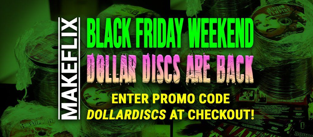 BLACK FRIDAY WEEKEND: Supply your own DVD case and save! @TempeVideo Dollar Discs thru #CyberMonday only with promo code DOLLARDISCS at checkout. Go!  https://t.co/I665rP4Eww  #makeflix #tempedigital #DVD #dollardiscs #BlackFridayDeals #bargains #tempevideo #deals #movies https://t.co/In4qCA1cP7