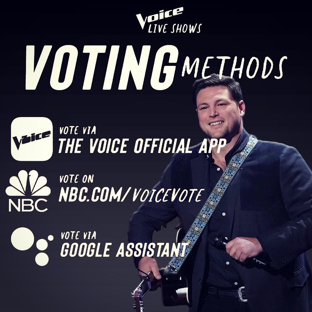 Tomorrow night! @NBCTheVoice #teamblake