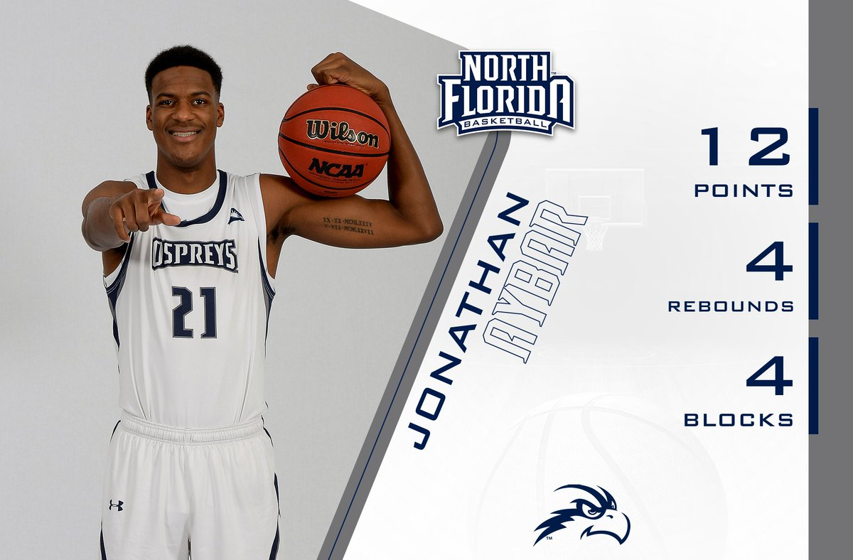 💪night for @JonathanAybar15 posting career highs with 12 points | 4 blocks against Miami! #SWOOPLife