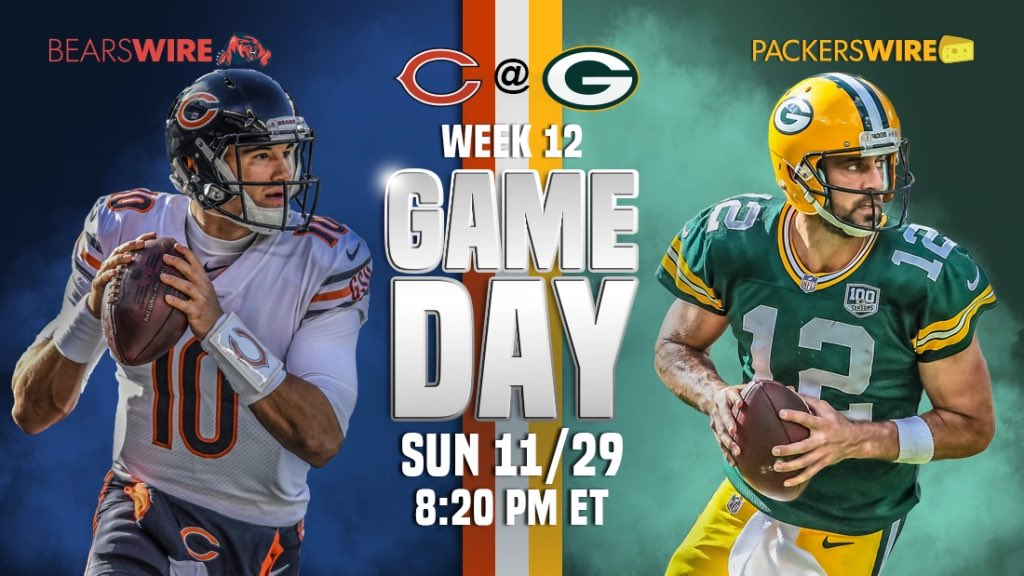 #sundaynightfootball #bears at #packers #football 🏈 https://t.co/tTIM9ncTQe