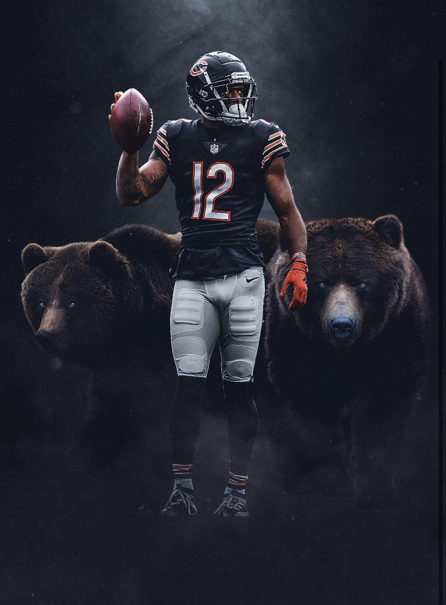Two of my favorite wide receivers to watch are playing tonight!   Who you got?  #Nfl #DaBears #GoPackGo