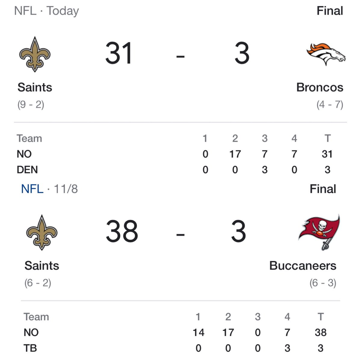 @NFL_Memes's photo on Saints