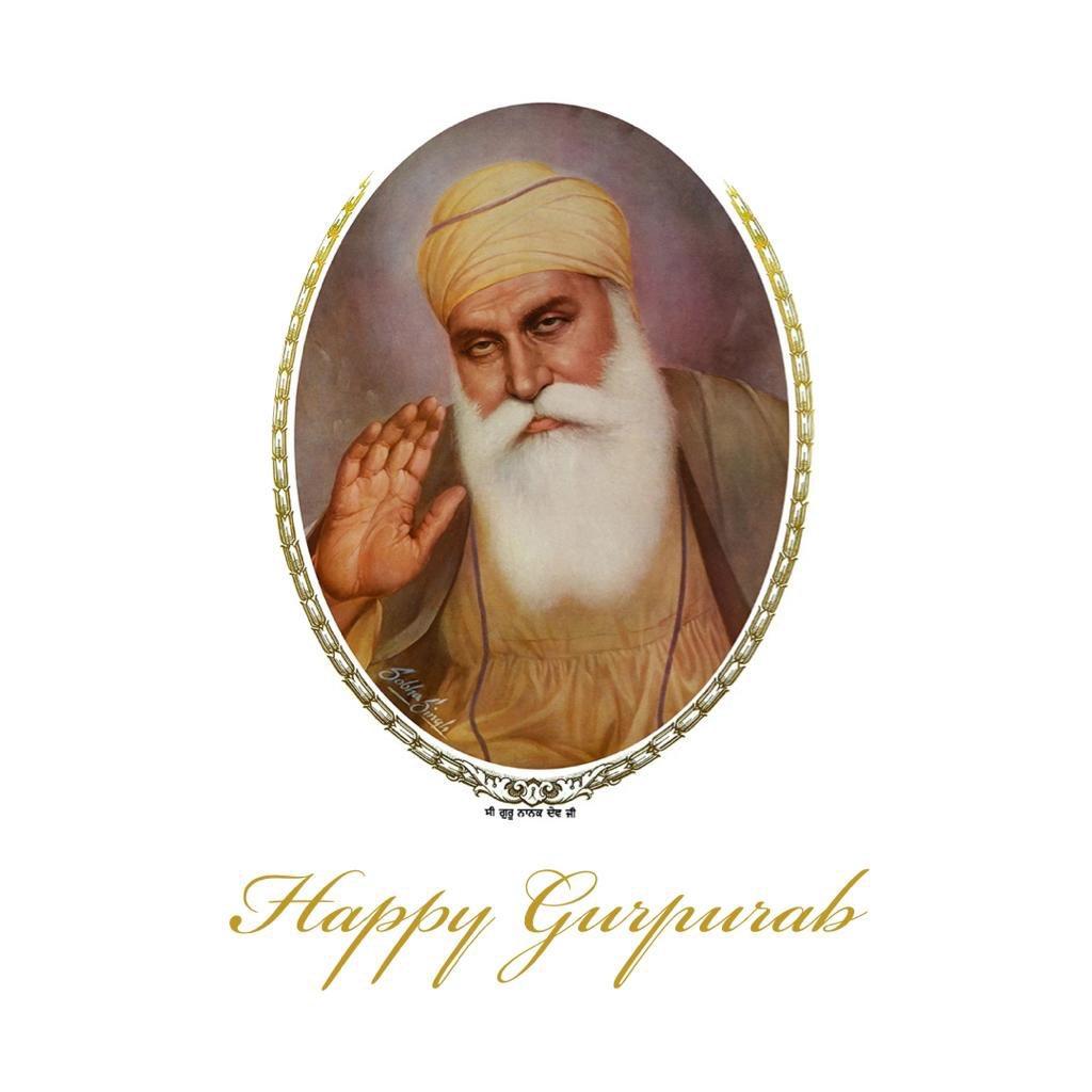 May Guru Nanak Dev Ji's holy teachings enlighten you and bring you lots of success & blessings. Happy Gurpurab! #GuruNanakJayanti2020
