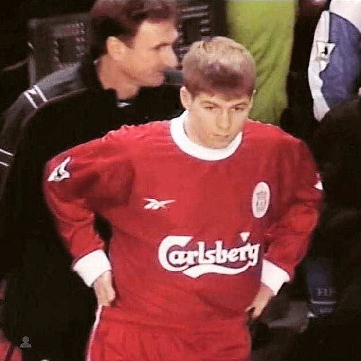 It was 22 years today #stevengerrard made his debut for @LFC making 710 appearances as a red!! Thank you for the many years of pleasure you gave the fans!  To me you'll always be a legend. #ynwa #stevieg #theredway  #legend #LiverpoolFC https://t.co/piSdbVqySv