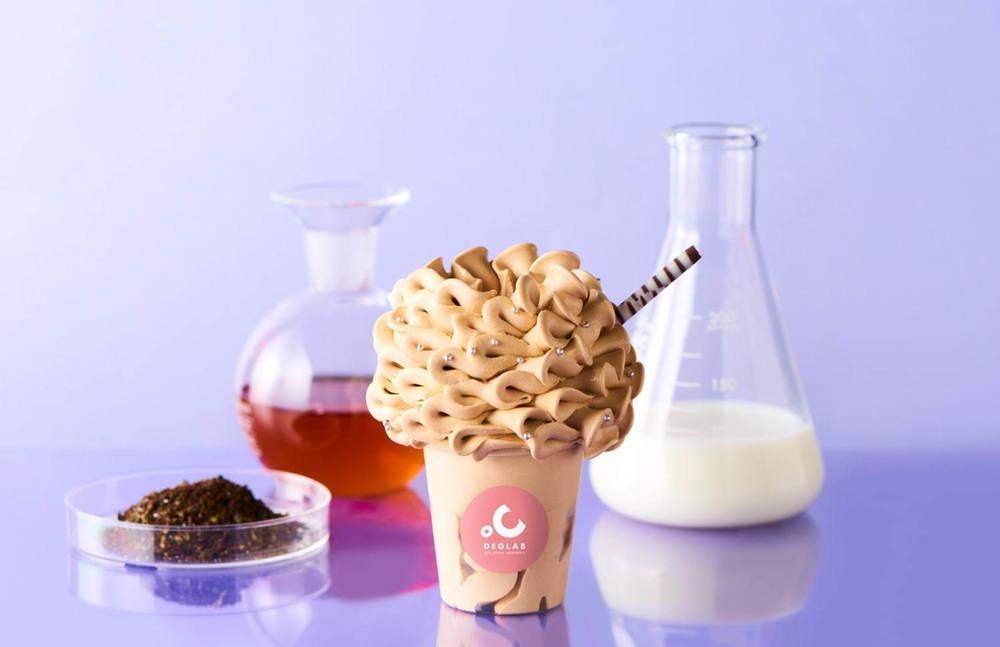 """大阪・ディグラボ""""ロイヤルミルクティー""""ソフトクリーム、究極のふわふわ食感&紅茶の芳醇な風味 -"""