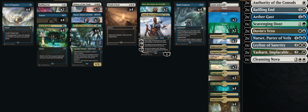 crokeyz - Bant is the Tier 1 Historic deck that nobody is playing yet.  Record so far: 16-4  Decklist: