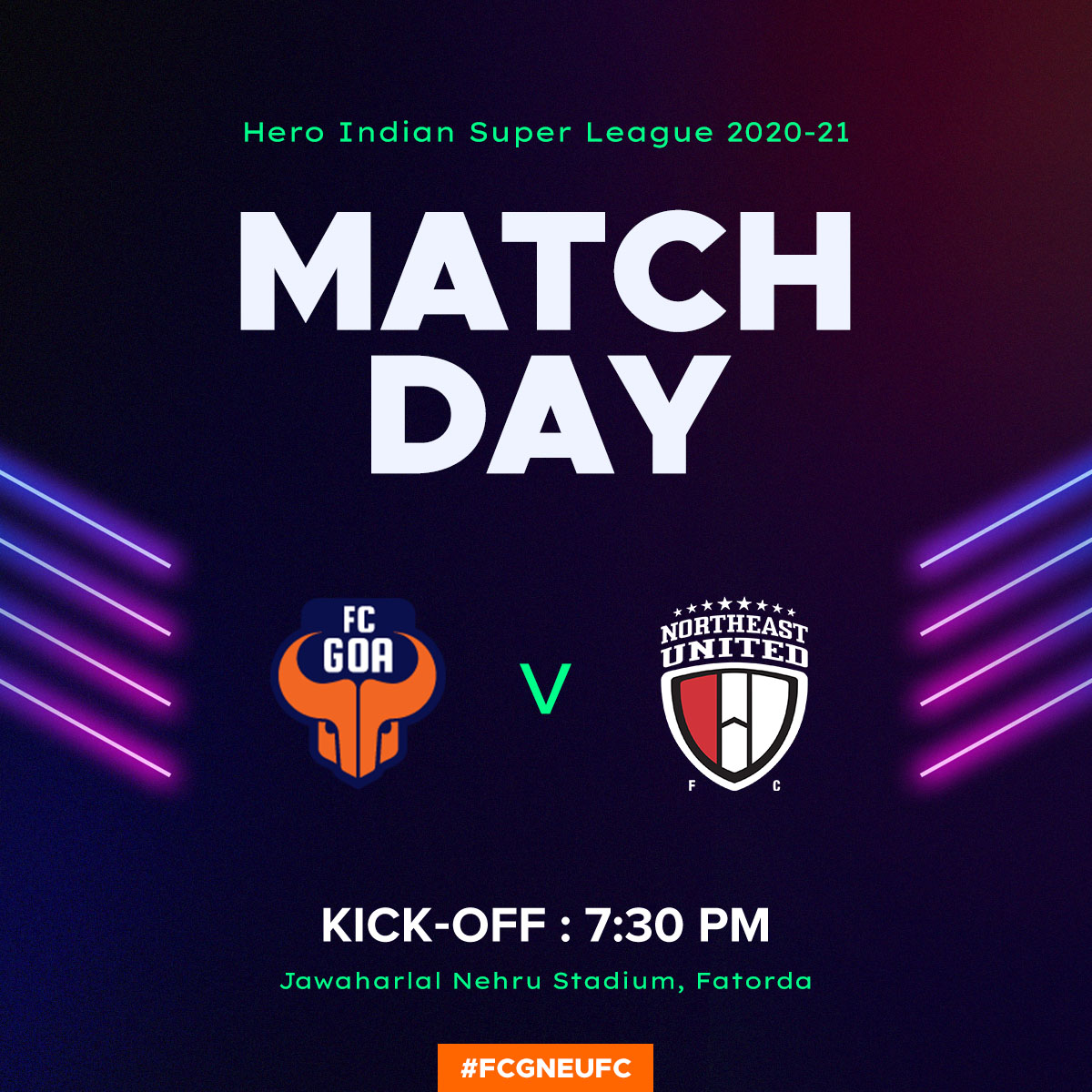 ‼️MATCHDAY‼️  It's time to claim those 3⃣ big points! 💪🏻  #RiseAgain #FCGNEUFC