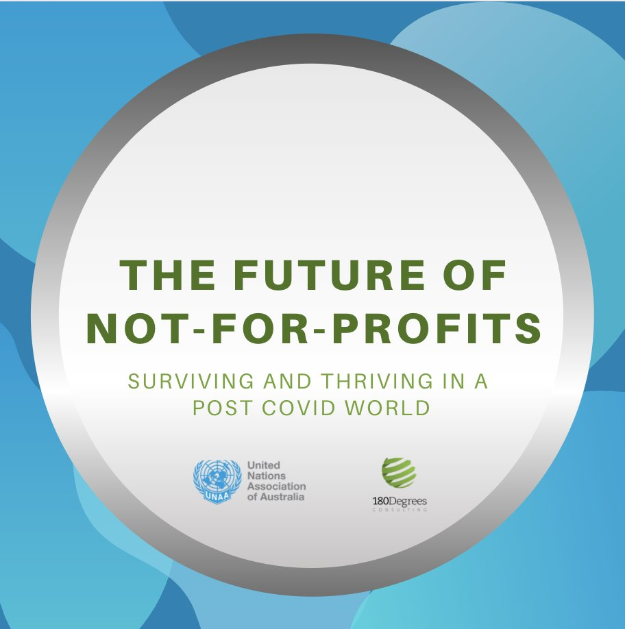 What does the future of not-for-profits look like? Join us this Wednesday 2 December along with @Unimelb and @180degrees to learn how NFPs can survive and thrive in the new challenging climate they face. Register: https://t.co/nvJvmFuBCM https://t.co/liHcKRmoeO