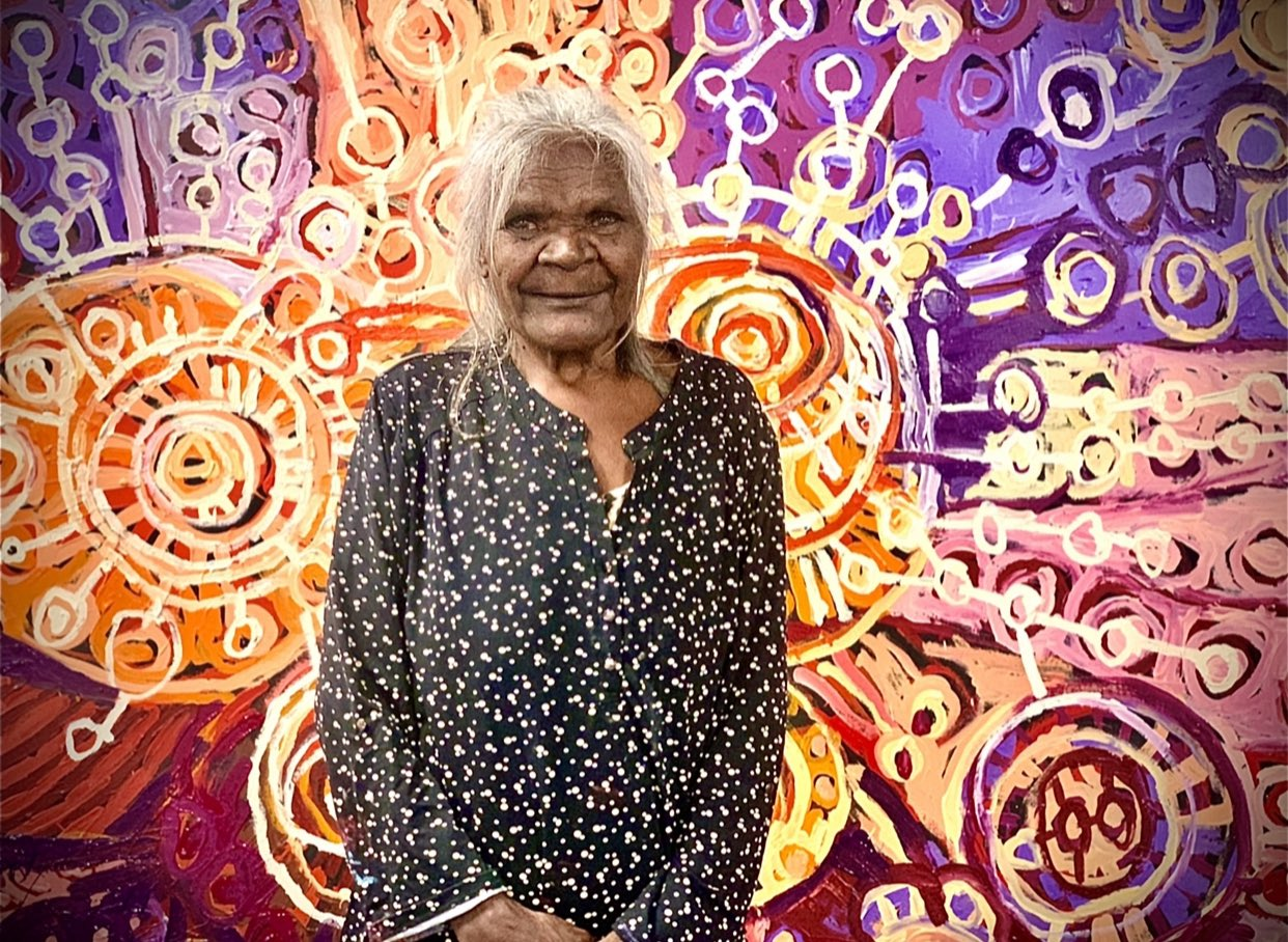 Stunning Aboriginal Australian art by Margaret Richards