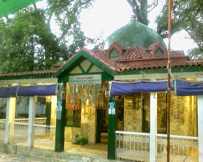 Shrine of Turat Murad in Lawrence Garden Lahore