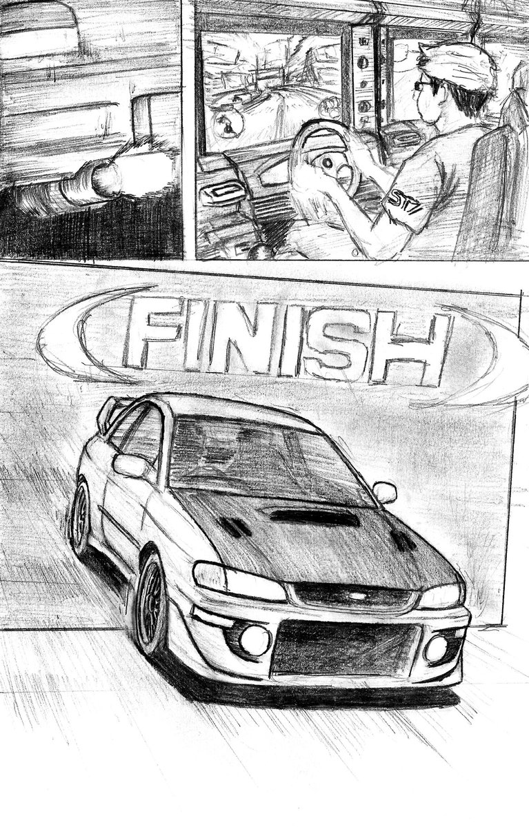 Part.4   Arcade Stage was the best way to experience Initial D, ver.3 to 8 actually, I'd never yet play Dzero anyway, and the reason I'd would like to cameo in project #CostumWhiteStudio #GANCANG #InitialD #Manga #Anime #illustration #Impreza #WRX #RX7 #FC3S #Drifting #JDM https://t.co/cRiiP5Et1x