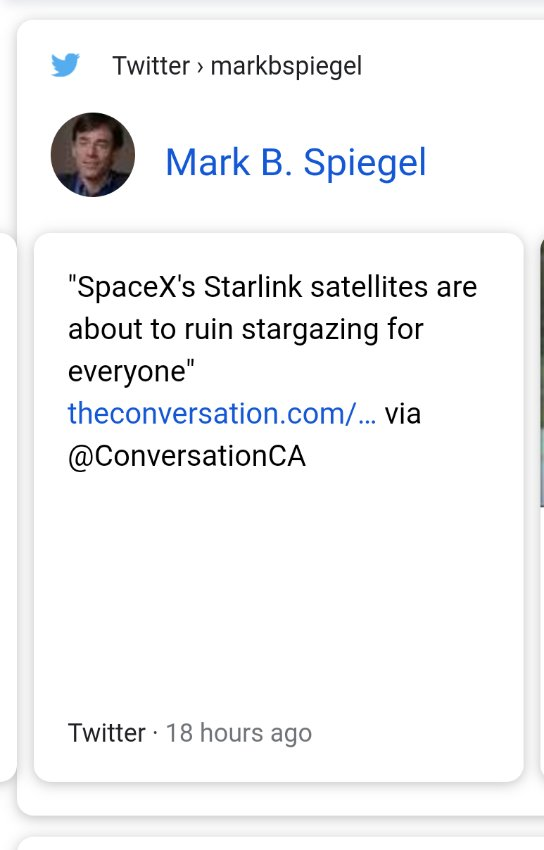 First orbital class booster ever relanded.  World's largest constellation of satellites (with their first starlink sat launched in late 2019) First private company to ever launch a human in space.  Keep throwing shade Mark B. Speigel $tesla #teslaq #tesla #SpaceX #LaunchAmerica
