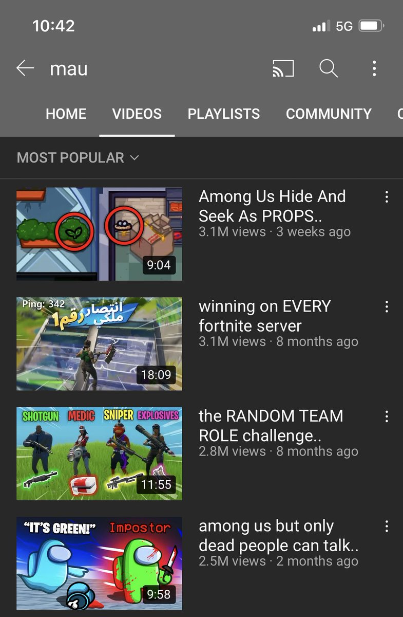Mau - Just got my most popular video on a new game 🥳  W