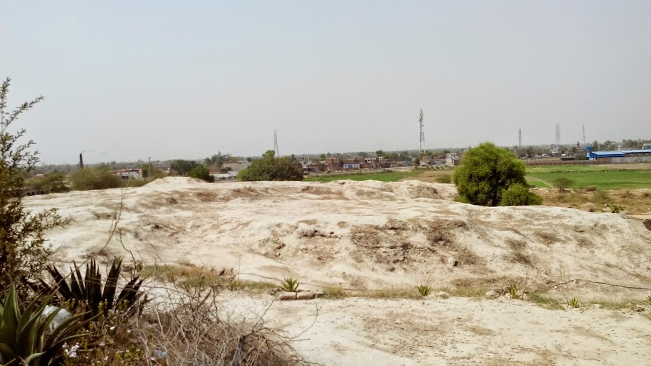 The scorched earth of Chandra Village