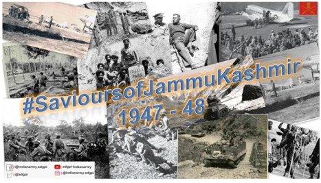 The impromptu battles were over. Operations in the coming months required long-term planning and buildup, which was executed earnestly. (51/n)  #SavioursofJammuKashmir1947