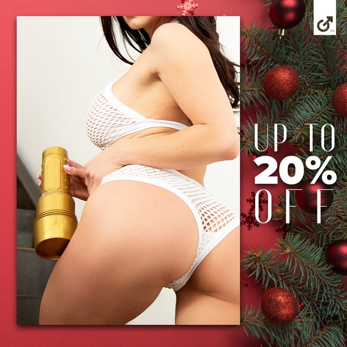 Give the gift that keeps on giving - Fleshlight's holiday sale is on! Today thru Cyber Monday, get up
