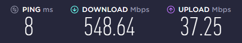 Strippin - 2nd Internet line installed today. @dexbonus and I can stream at the same time again!