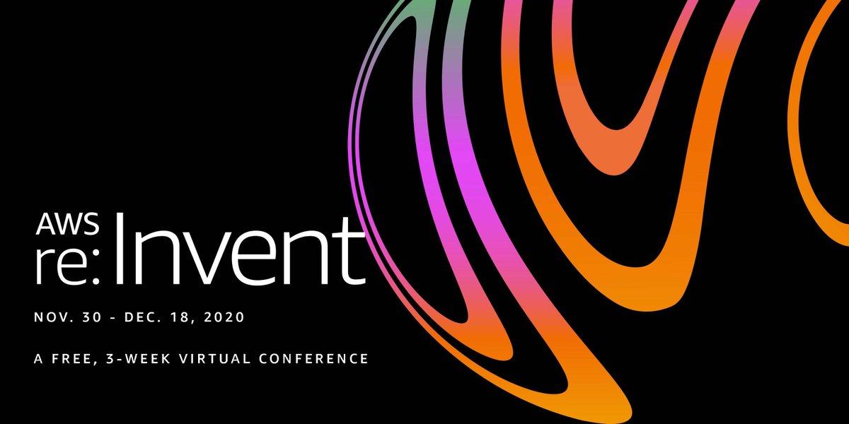 Join #Couchbase at the 3-week virtual @awscloud #reInvent 2020, November 30 – December 18. Registration is free. https://t.co/1UpZmvzmnm https://t.co/iaJ9bunoeJ
