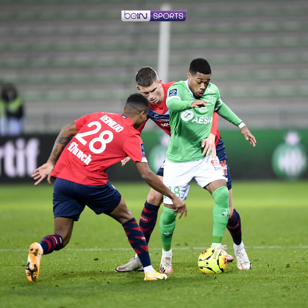 ⚽ Saint-Etienne 1-1 Lille Lille buang peluang untuk ke puncak klasemen 😤  ⚽ Marseille 3-1 Nantes l'OM semakin stabil 👍  ⚽ Strasbourg 1-1 Rennes Rentetan hasil buruk Rennes berlanjut 😔  ⚽ Lorient 0-1 Montpellier Montpellier naik ke peringkat 3️⃣❗ _ #beINLigue1 https://t.co/sv2254bhCk