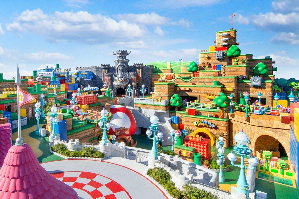 Super Nintendo World Dibuka di Universal Studios Jepang pada 4 Februari 2021