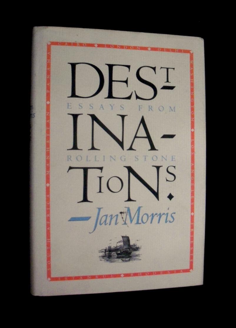 New at Karen's Book Row: First edition of Jan Morris' wonderful book of travel essays, DESTINATIONS (1980): https://t.co/1PtvxDx8WT https://t.co/oZyfLNyzGc