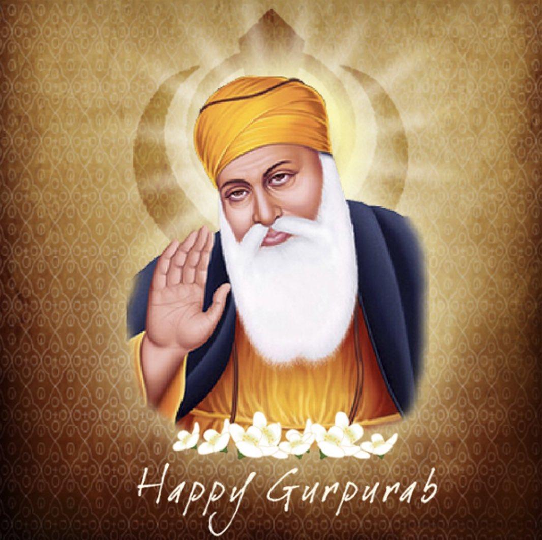 तुहानु ते तुहाने सारे परिवार नु गुरु पूरब दी लख-लख वधाईयां 🙏🏻 #GuruNanakJayanti
