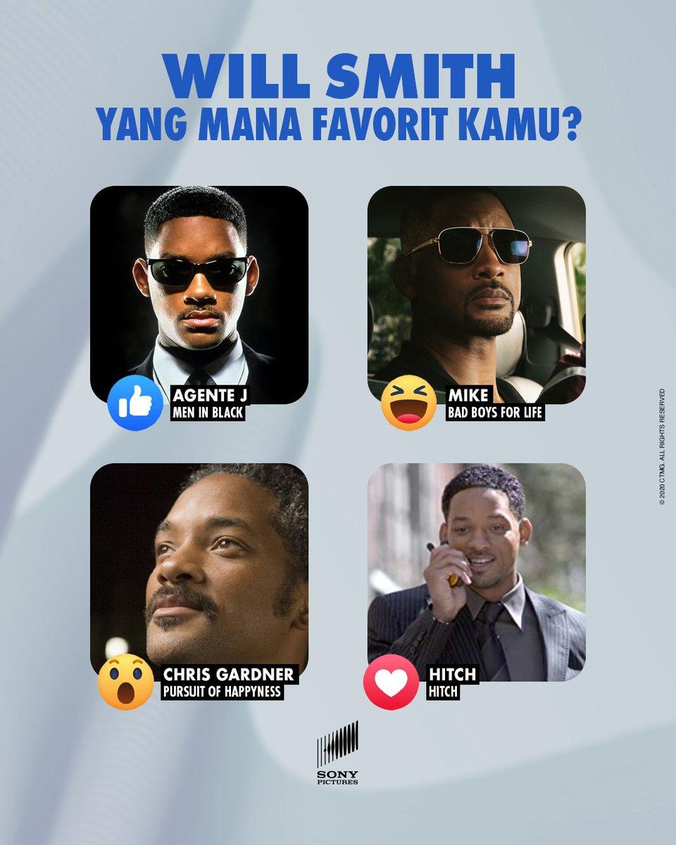 Mana Will Smith favorit kamu?