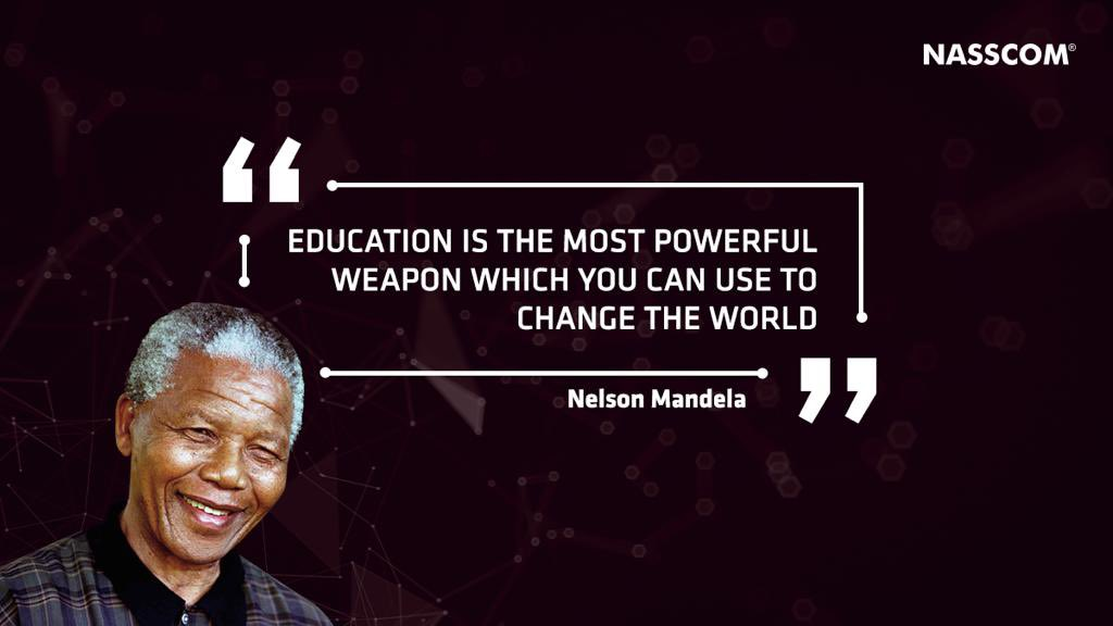 Embark on a path of continuous learning to bring about a change in the world. #MondayMotivation
